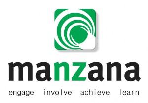 Manzana logo vertical